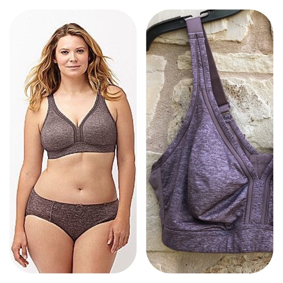 b07068522 Cacique Other - CACIQUE Mauve Cooling No Wire Full Coverage Bra